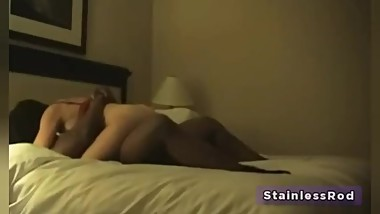 Hotwife Cheating on Husband meets her Black Bulls in Hotel