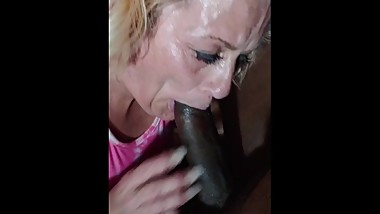Mature Head Doctor Deep Throating 9 inch Dick
