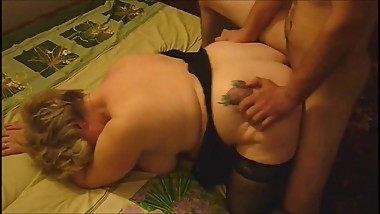 Mature Gal Fucked by a young stud