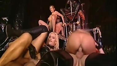 Crazy Italian Leather Orgy