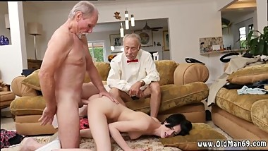 Old man black girl and old man fuck thai and old mature orgy and old