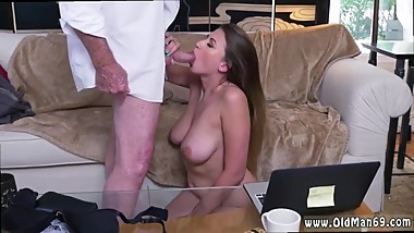 Glory hole facial and white slut deepthroat bbc and mature blonde facial