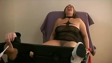 Sarah Tickled In Pantyhose