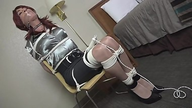 Mature cd tied and gagged