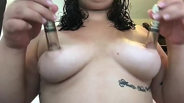 Nipple Suction Play