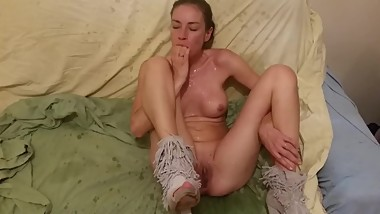 Hot MILF Fucking orgazm large Squriting she loves it