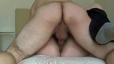Amateur amputee fuck creampie
