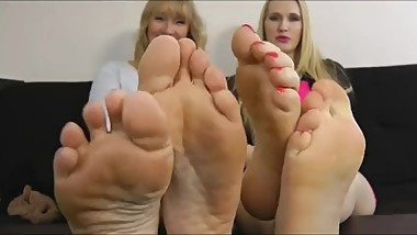 Mother and StepDaughter Feet