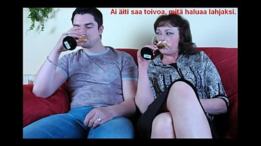 Slideshow with Finnish Captions: Russian mom Emilia 11