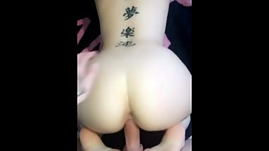 British tattooed slut fucked