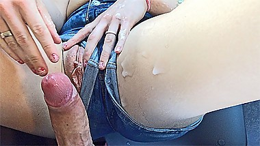 Cum On Jeans Compilation Huge MILF Cumshot HD Cumpilation 2 - YummyCouple