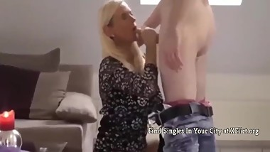 Young Fat Boy Fucks His First Mature MILF Like a PRO