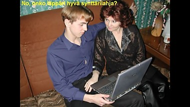 Slideshow with Finnish Captions: Russian Mom Angela 4