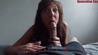 Milf Blowjob Oral Creampie Big Cock Laundromat Pick Up JIZZ