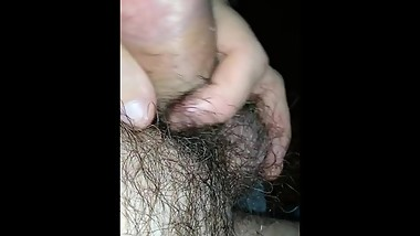 Jerking after steamy afternoon sex with beautiful Juan 1