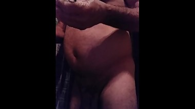 old guy masturbating with you