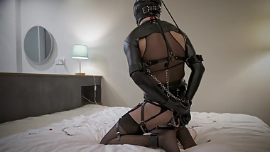 Fetish sissy Vlog- I love bondage and gag SMM-016