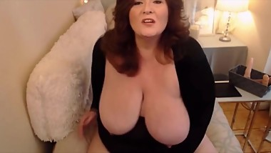 Voluptuous Milf BBW with creamy pussy and dirty wish