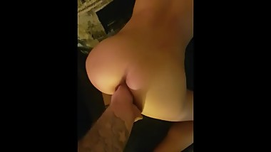 Perfect ass Skinny big tits anal amature