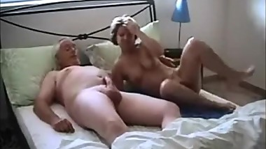 Old Couple Hot Sex Show