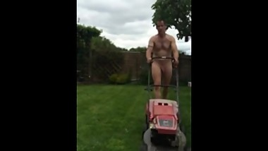 My Dad Mowin' The Lawn