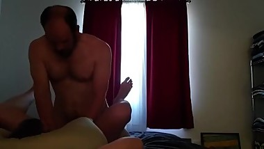 Verbal daddy roars like a lion as he cums deep inside a tight twink hole