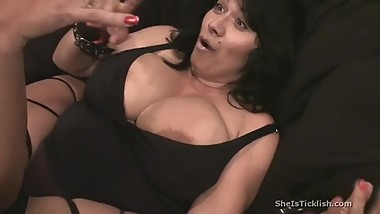 milf tickles