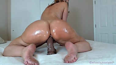 Oil Twerking Riding BBC