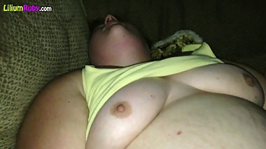 Slutty Fat Tinder Thot Caught on Cam Before she Became Obese