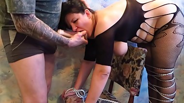 BDSM for busty wife