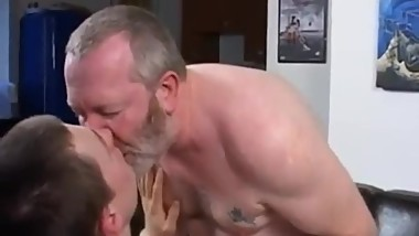 Dirty old man fucks a young twink