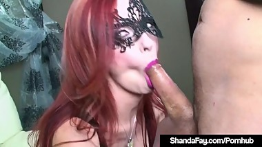 Dirty Talking Housewife Shanda Fay Sucks & Fucks A Cock!