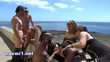 outdoor orgy amateur