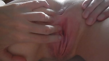 43 year old Shelly playing with her pussy and getting fucked.