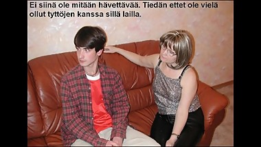Slideshow with Finnish Captions: Angela 2