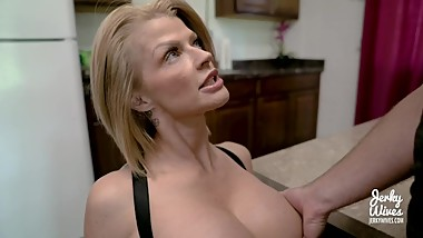 Joslyn James in StepMom's Protein Diet - Jerky Wives