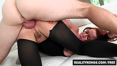 Reality Kings- Sexy milf Janet Mason gets Levi Cash's younger cock