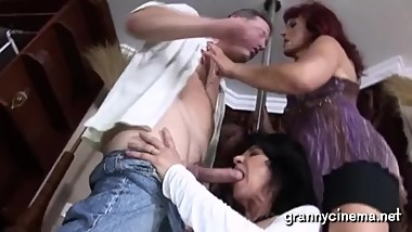 Grandmas still love getting fucked