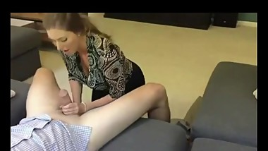 Real Mature Hooker in LA Blows Guy and Take Hugh Cumshot in Mouth