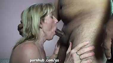 Mature Carol Cox Sucks and Swallows A Young Pornhub Member