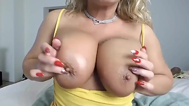 Hot Blonde Milf Can'T Stop Squirting 2
