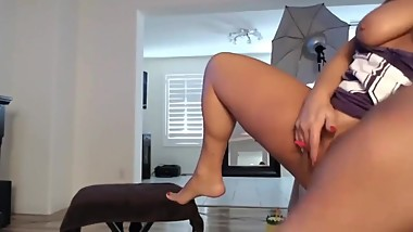 Hot Blonde Milf Can't Stop Squirting