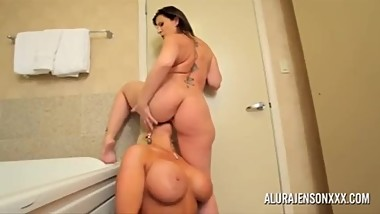 Sara Jay And Alura Jenson Lesbian Together HD