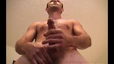 Mature Amateur Scott Jerking Off