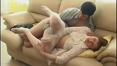 MATURE RUSSIAN PANTY AND SON