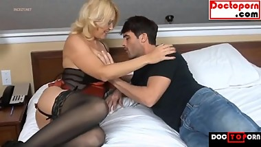 HOT STEPMOM FUCKS SON