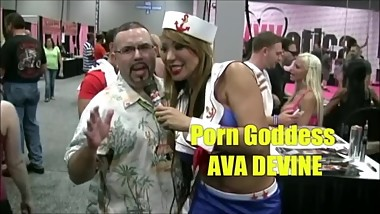 AVA DEVINE INTERVIEW AT EXXXOTICA NJ 2013 (SPIC'N SPANISH RELOADED TV)