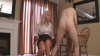 mature blonde domina guy