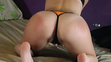 Beautiful Teen Ass Bends Over 1080p