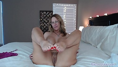 Quickie Count Down Cum On Toes Camgirl Milf Jess Ryan